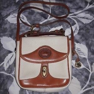Vintage Authentic Dooney Bourke Crossbody Leather
